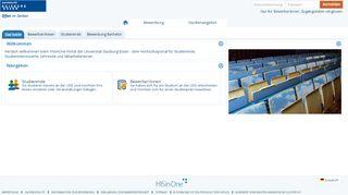 Uni Duisburg Essen Online Portal
