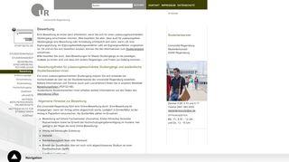 Uni Regensburg Online Portal