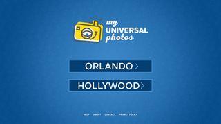 Universal Studios Photo Portal