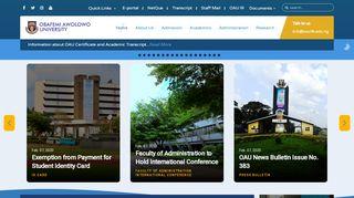 University Of Ife Portal