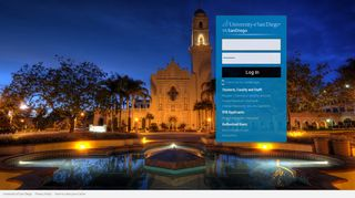University Of San Diego Web Portal