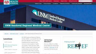 Unm Sandoval Regional Medical Center Patient Portal