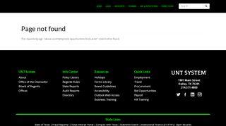 Unt Job Portal