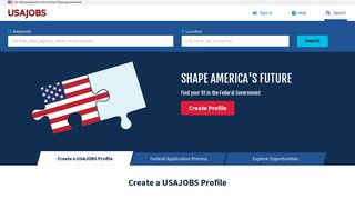 Usajobs Gov Portal