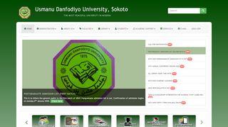 Usman Danfodio University Portal
