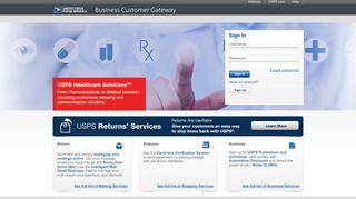 Usps Business Portal