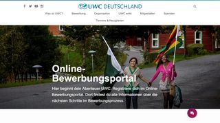 Uwc Online Portal
