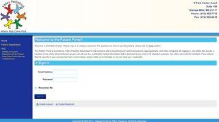 Valley Pediatrics Portal