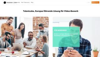 Videobewerbung Portal