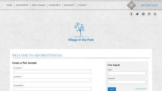 Village In The Park Resident Portal