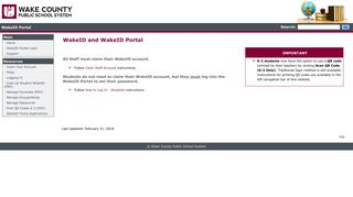 Wakeid Portal Login