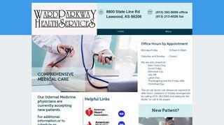 Ward Parkway Health Services Portal