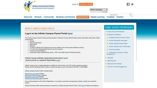 Washoe County Parent Portal