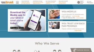 Wea Trust Provider Portal