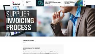 Weatherford Supplier Portal