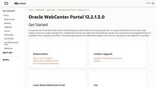 Webcenter Portal 12c