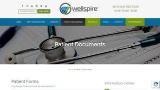 Wellspire Patient Portal
