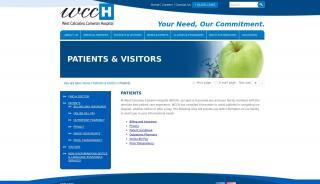 West Calcasieu Cameron Hospital Patient Portal