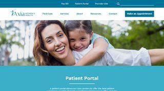 West Essex Ob Gyn Patient Portal