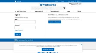 West Marine Vendor Portal