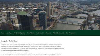 West Michigan Rheumatology Patient Portal