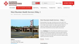 West Mountain Primary Care Patient Portal