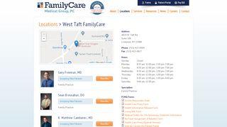 West Taft Family Care Patient Portal