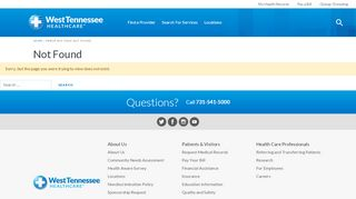 West Tn Healthcare Patient Portal