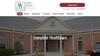 West Wilson Family Practice Patient Portal