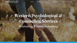 Western Psychological Patient Portal