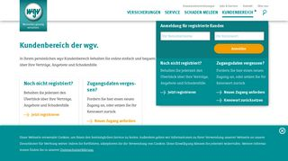Wgv Online Portal