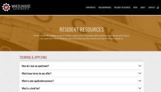 Wheelhouse Apartments Resident Portal