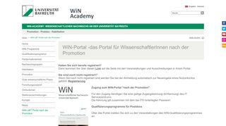 Win Portal