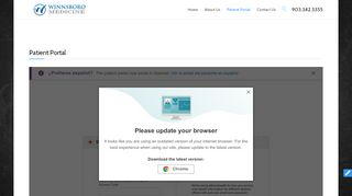Winnsboro Internal Medicine Patient Portal