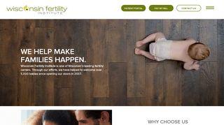 Wisconsin Fertility Patient Portal