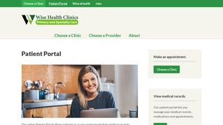 Wise Family Practice Patient Portal