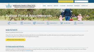 Wiseman Patient Portal