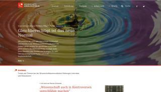 Wissenschaftskommunikation Online Portale