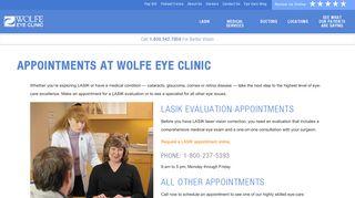 Wolfe Eye Clinic Patient Portal