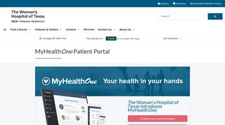 Woman's Hospital Of Texas Patient Portal