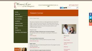 Women's Care Of The Bluegrass Patient Portal