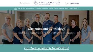 Women's Health Group Manhattan Ks Patient Portal