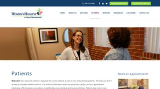 Women's Health Of Central Ma Patient Portal