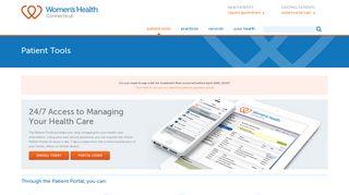 Women's Healthcare Patient Portal