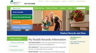 Wood County Hospital Patient Portal