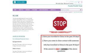 Woodbridge Medical Centre Patient Portal