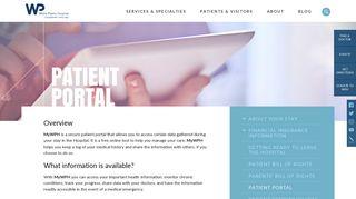 Wph Patient Portal