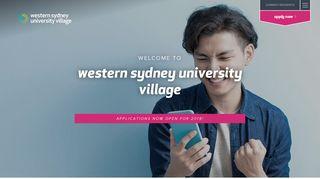 Wsu Village Portal