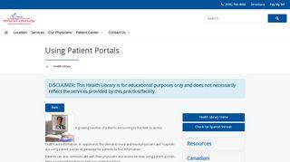 Www Conroeregional Com Patient Portal