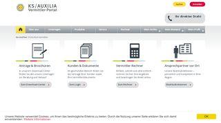 Www Ks Auxilia De Vermittler Portal